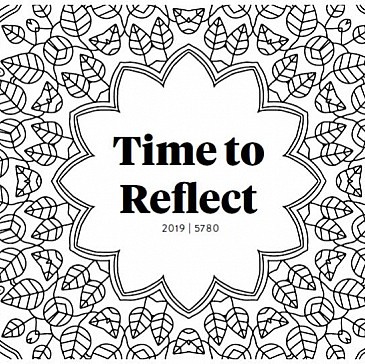 Time to Reflect 2019/5780