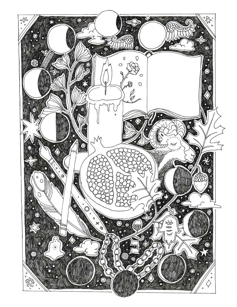 Yom Kippur Illustration