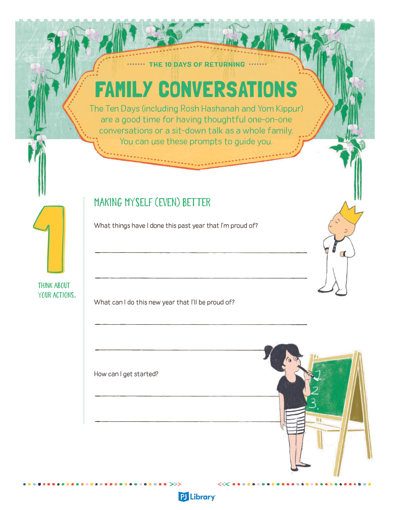 Family Conversations for the High Holidays 1