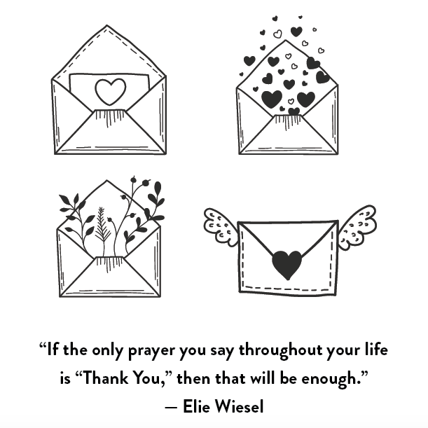 Elie Wiesel on Gratitude