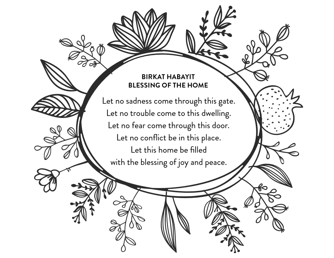 Jewish Home Blessings