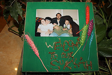 """Activity: """"Welcome to Our Sukkah"""" Sign"""