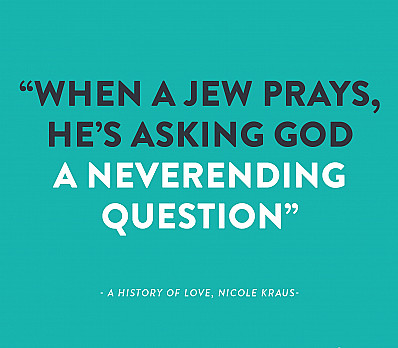 When A Jew Prays