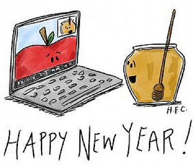 Apples & Honey Card