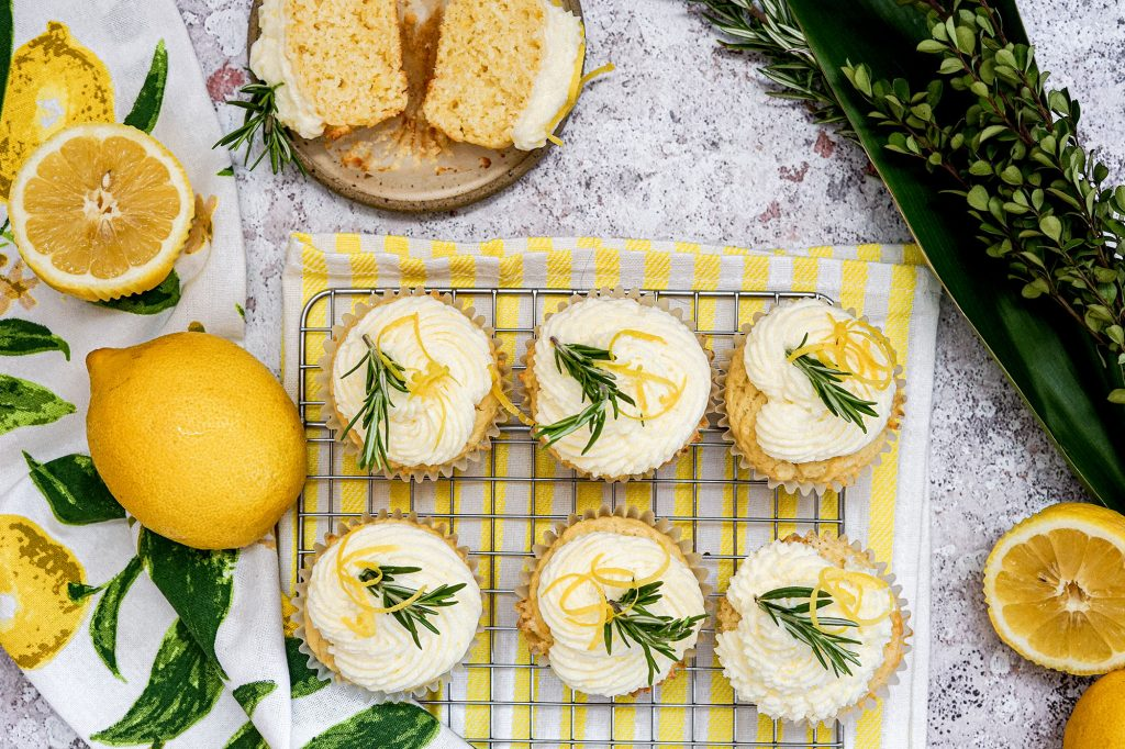 Lemon Etrog Cupcakes for Sukkot