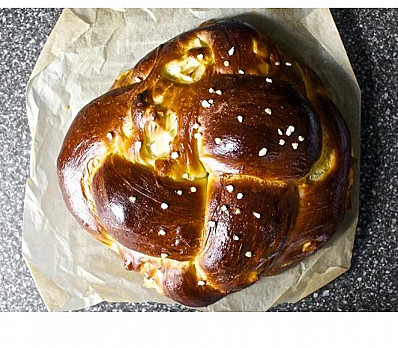 Apple & Honey Challah from Smitten Kitchen